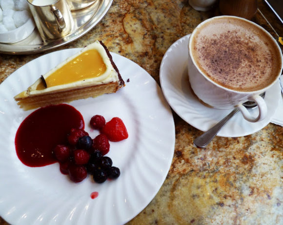 Lemon Curd & White Chocolate Cake, Betty's Tea Rooms York