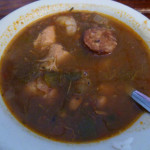 Gumbo and Shrimp By The Track