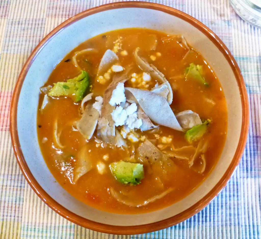 Mexican Tortilla Soup Recipe — Dishmaps