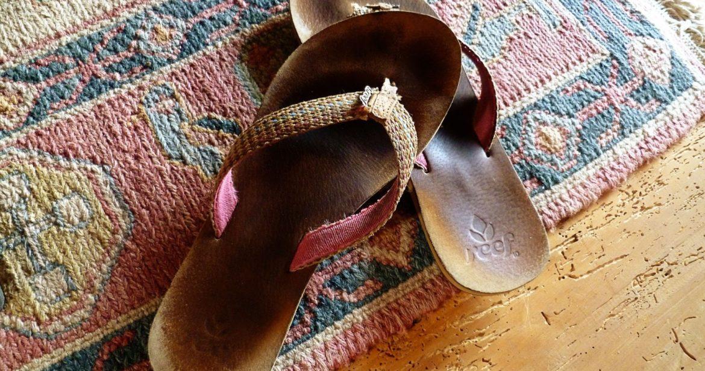 Broken Flip Flops? Non.