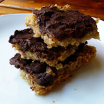 Banana, Walnut and Chocolate Flapjacks