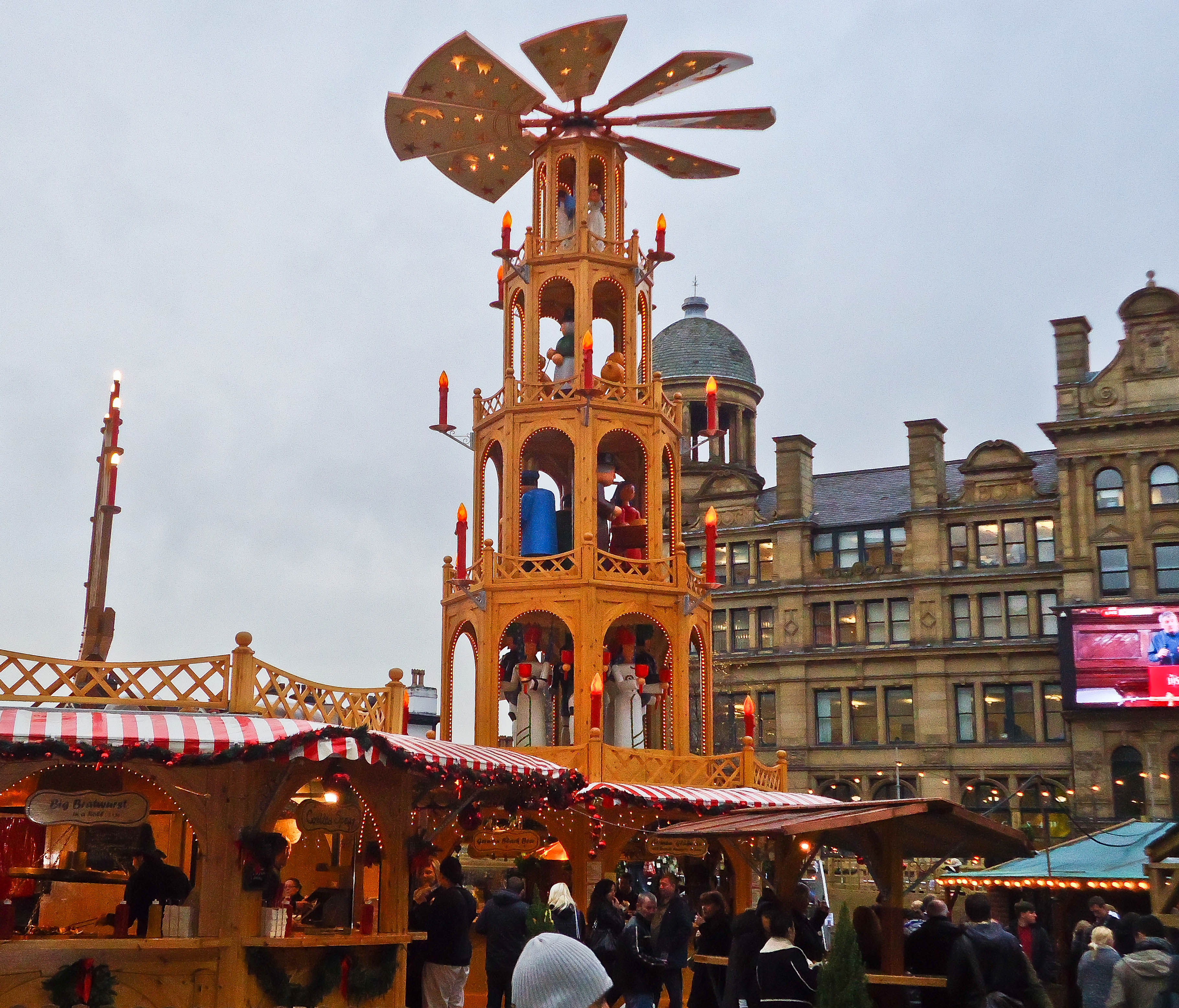 Flashback Friday: Manchester Christmas Markets