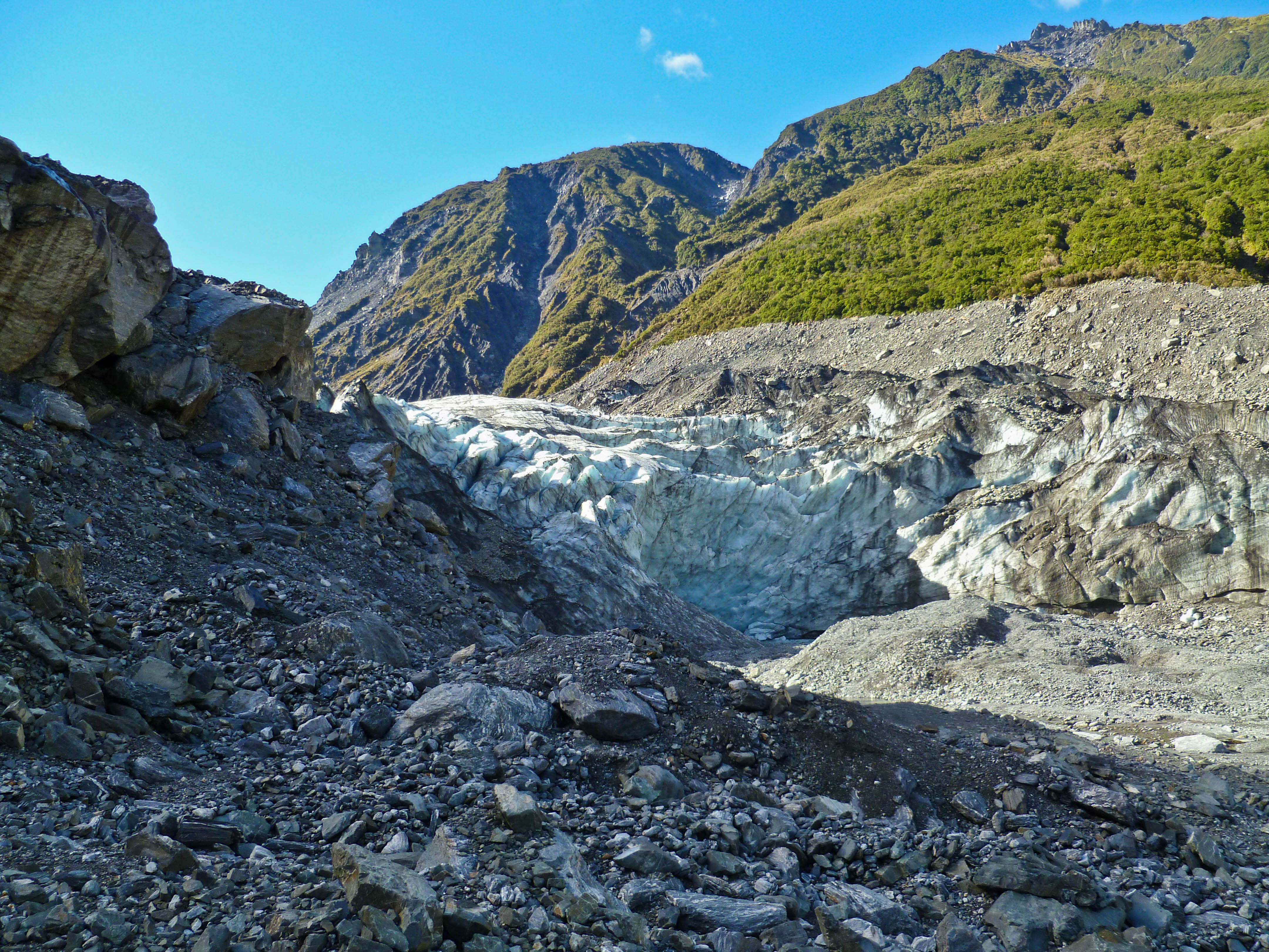 You Don't Have To Climb Fox Glacier To Appreciate Its Beauty