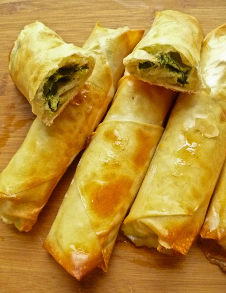 spinach and cheese cigar burek