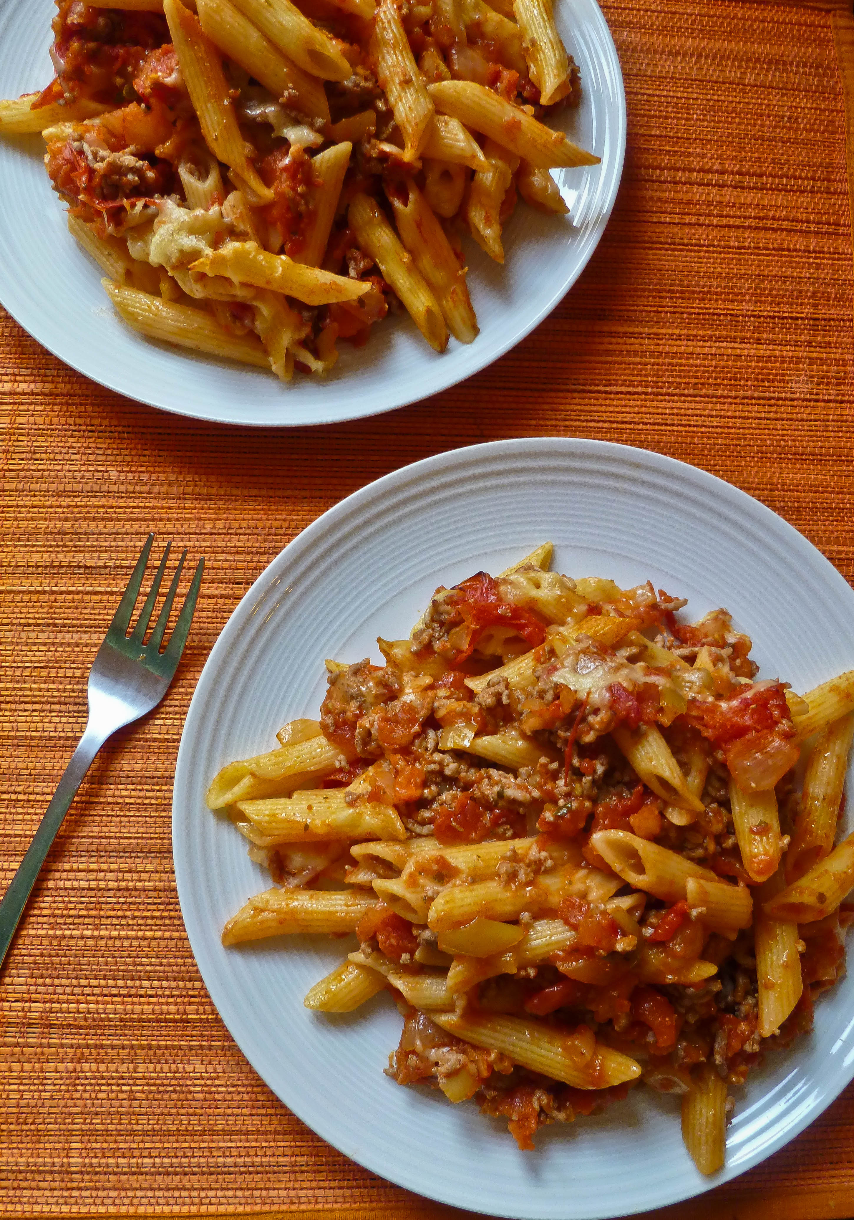 Simple bolognese pasta bake recipes