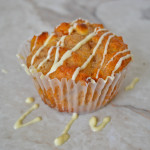 Healthy Breakfast Muffins with Apricot and White Chocolate