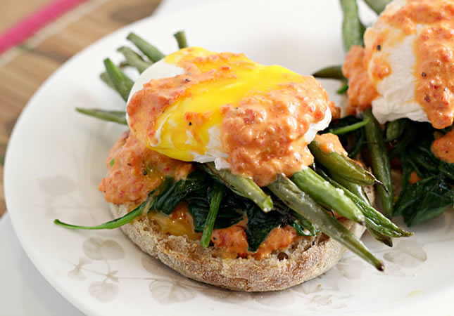 vegetable eggs benedict via joanne eats well with others proving