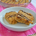Peanut Butter Flapjacks