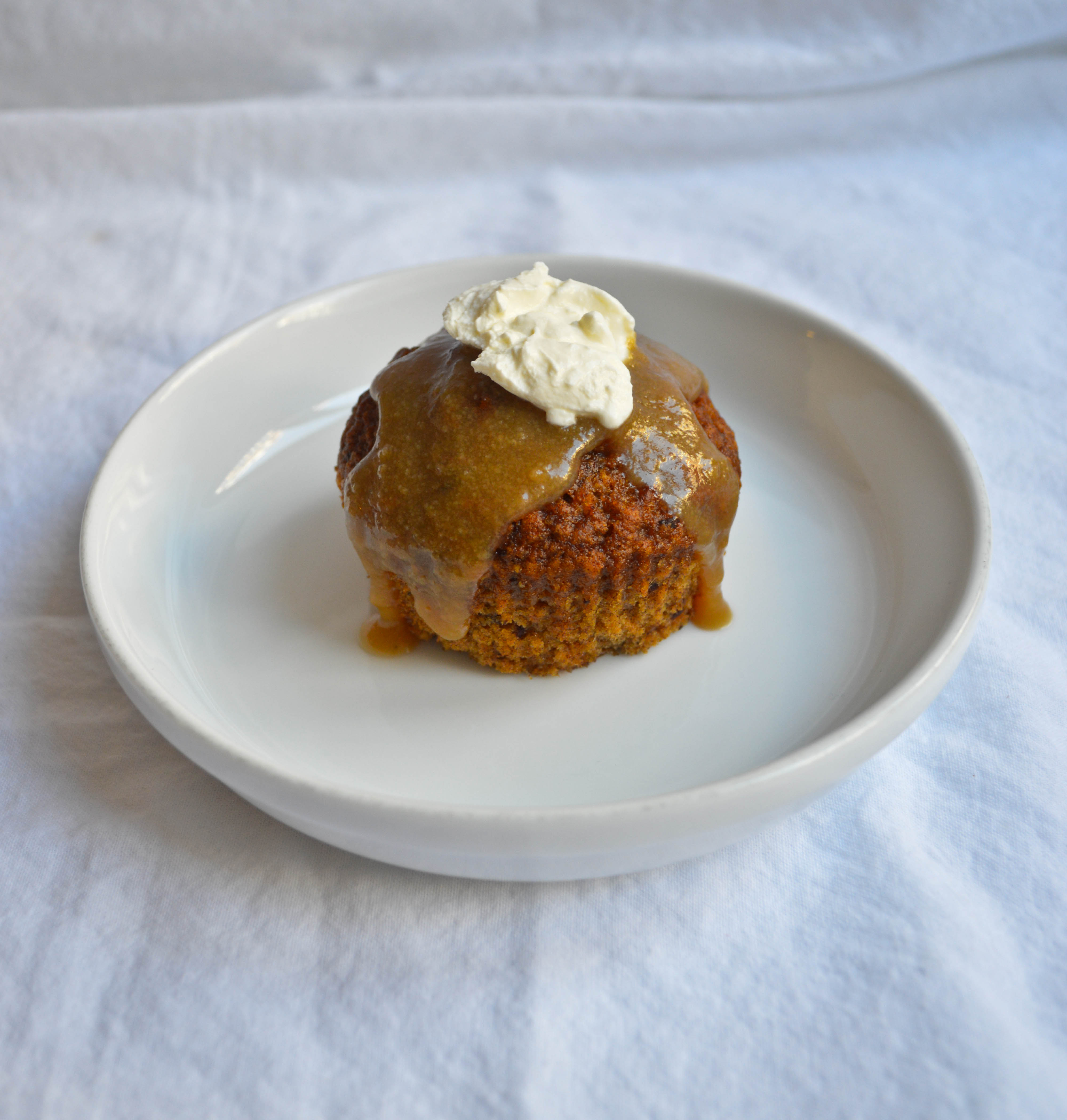 how to cook costco sticky toffee pudding