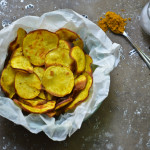Curried Sweet Potato Chips