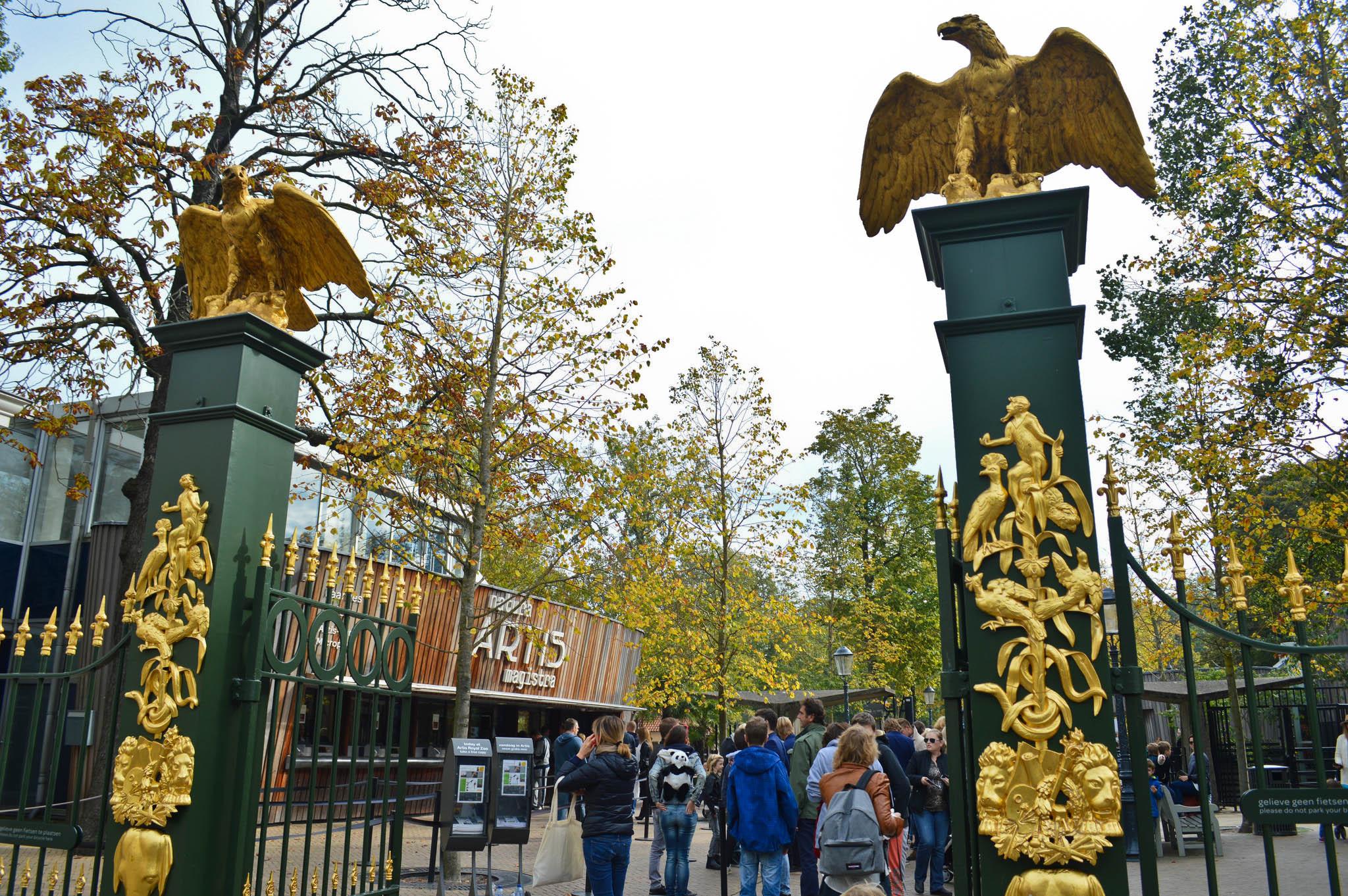 Exploring Amsterdam Zoo