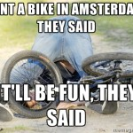 The Rules For Riding a Bike in Amsterdam