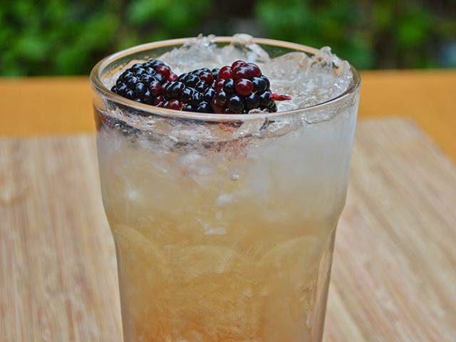 Chambord Bramble Cocktail