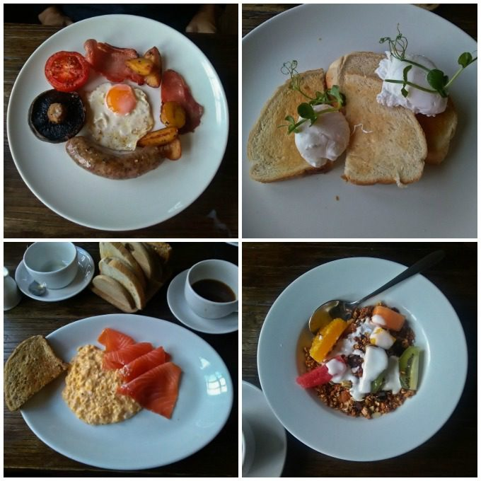 Breakfast at The George and Dragon Cumbria