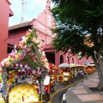 Trishaw Riding in Melaka