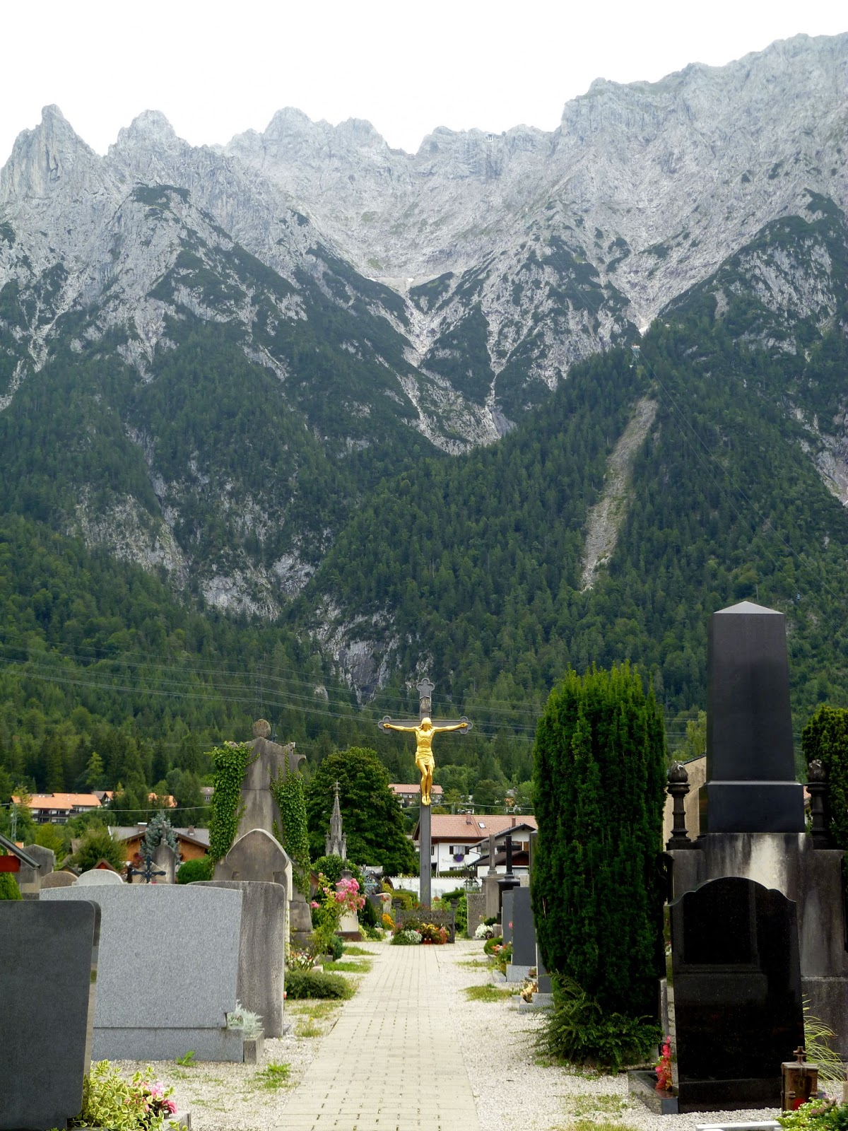 flashback friday cemetery in mittenwald confused julia. Black Bedroom Furniture Sets. Home Design Ideas