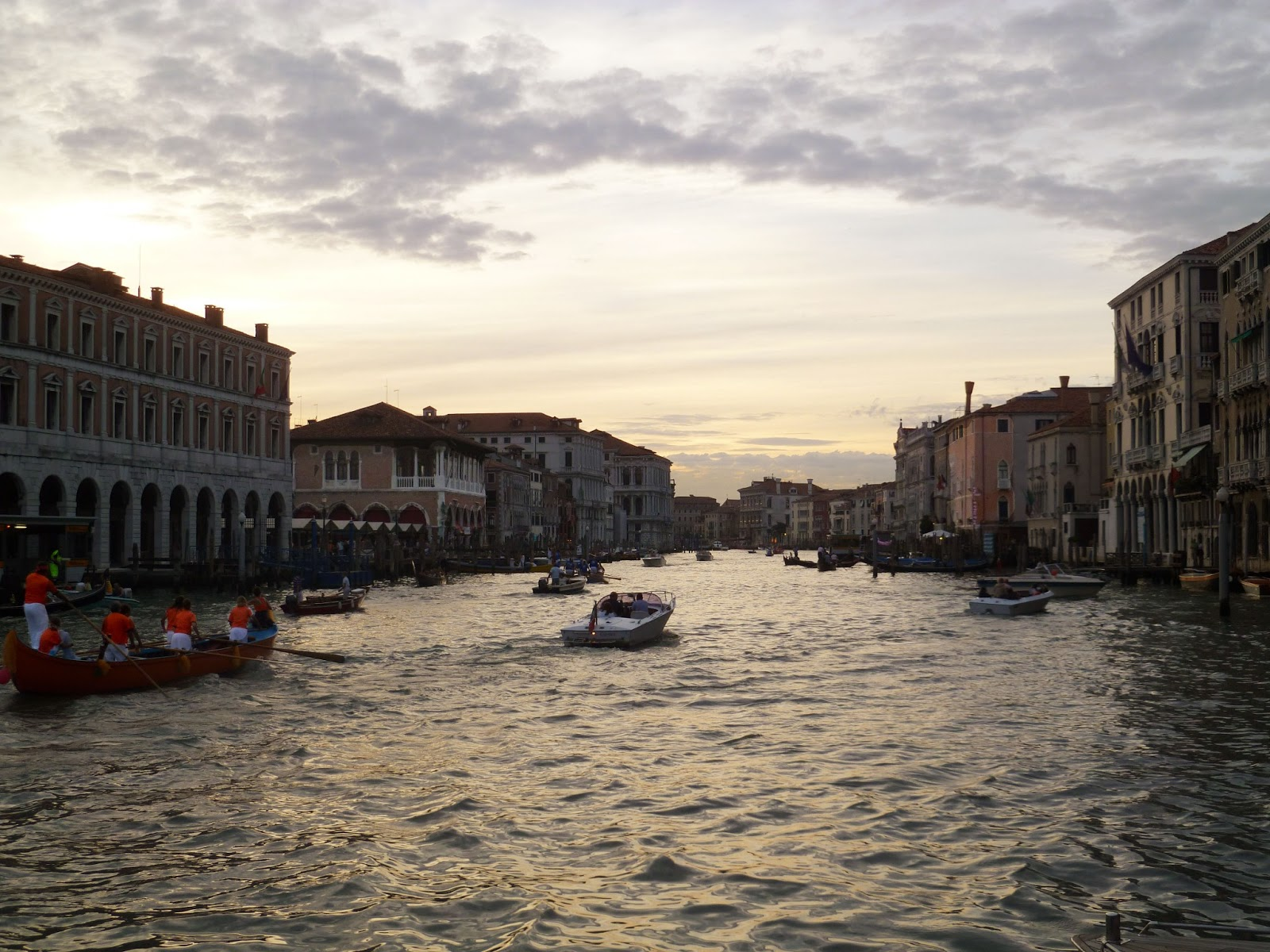 Flashback Friday: Sunset Over The Grand Canal