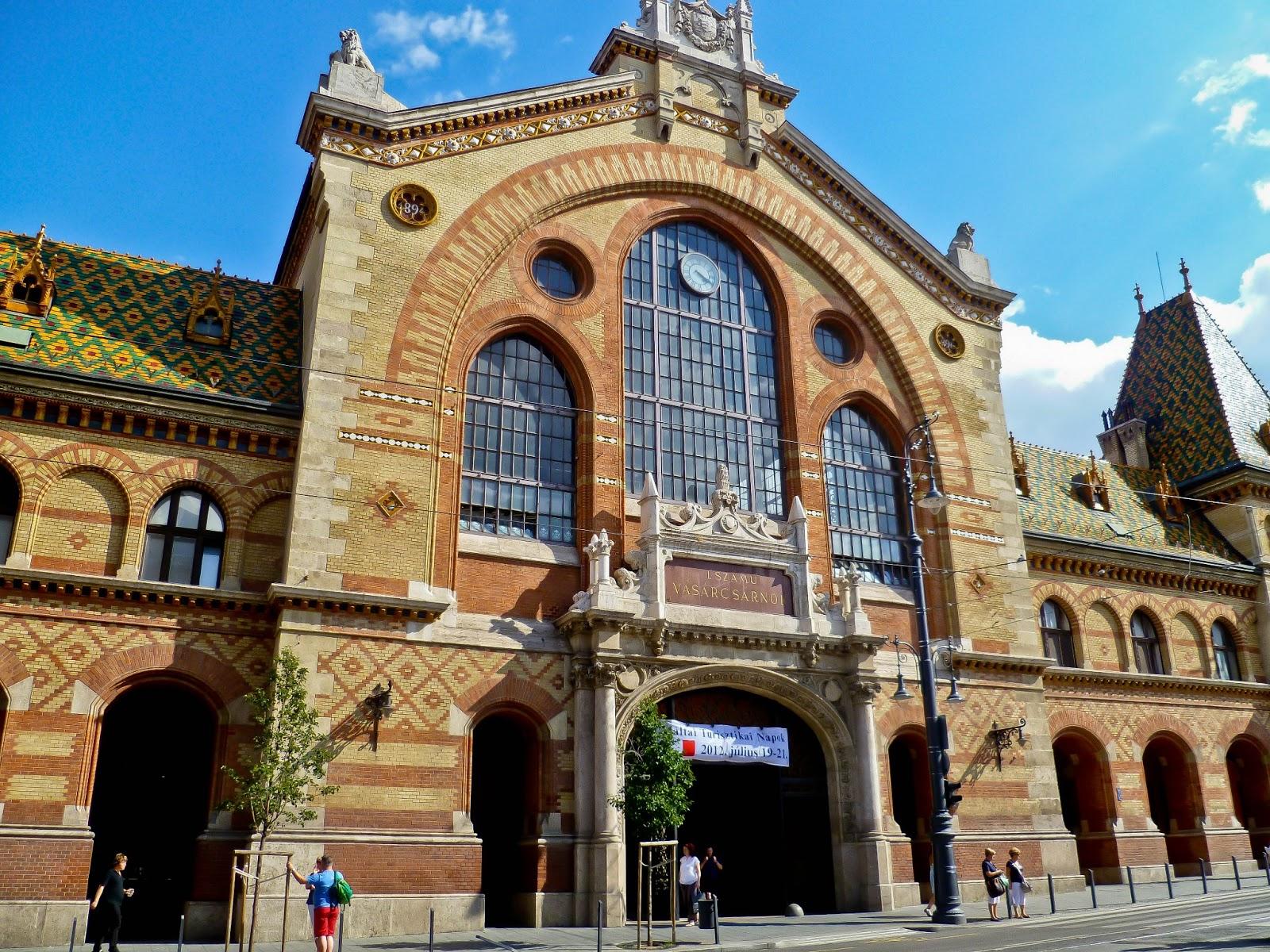 Friday Flashback: Great Market Hall, Budapest