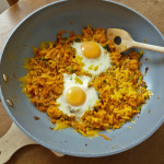 Sweet Potato Hash Browns Skillet Breakfast