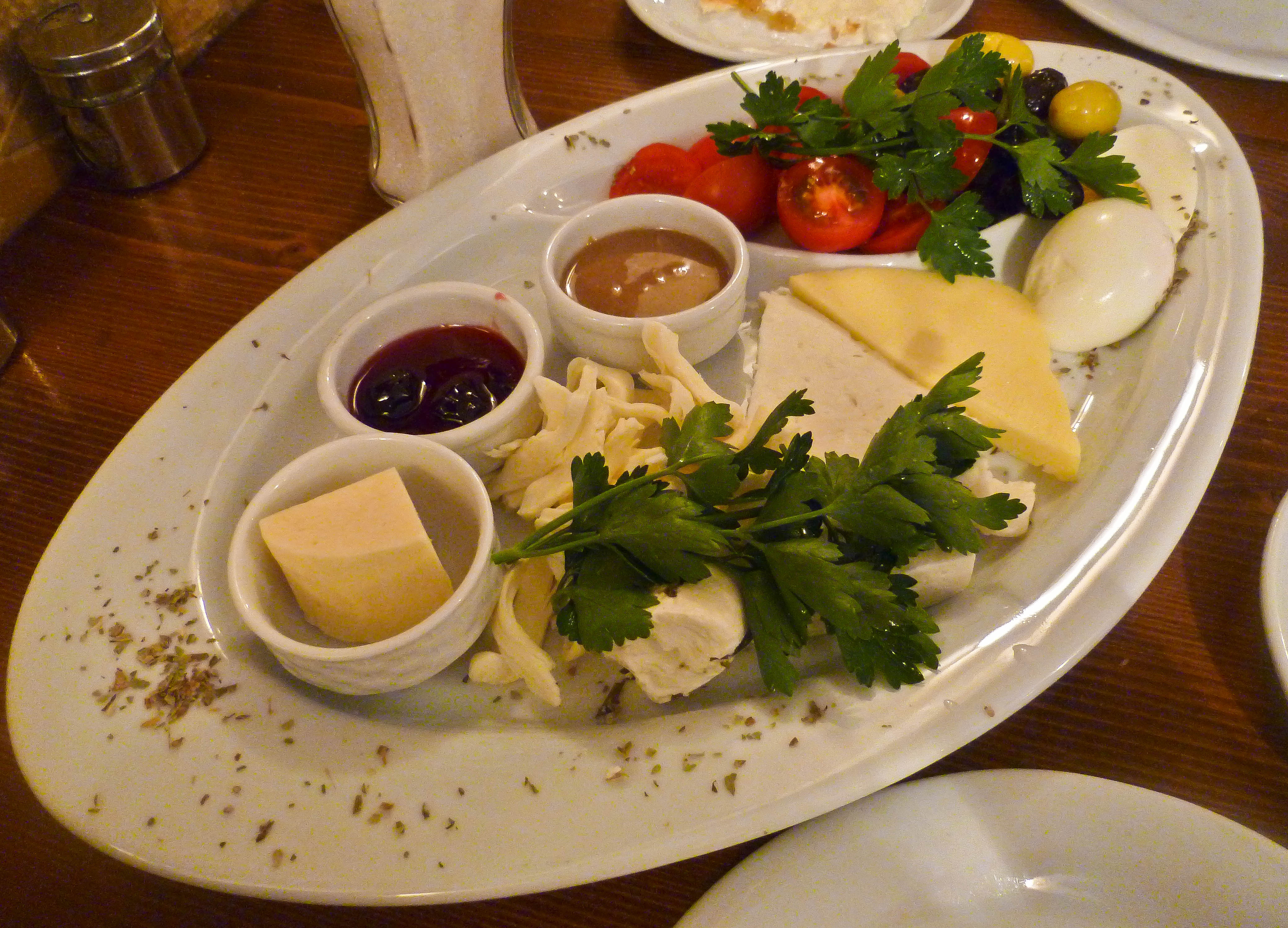 A traditional turkish breakfast confused julia for About turkish cuisine
