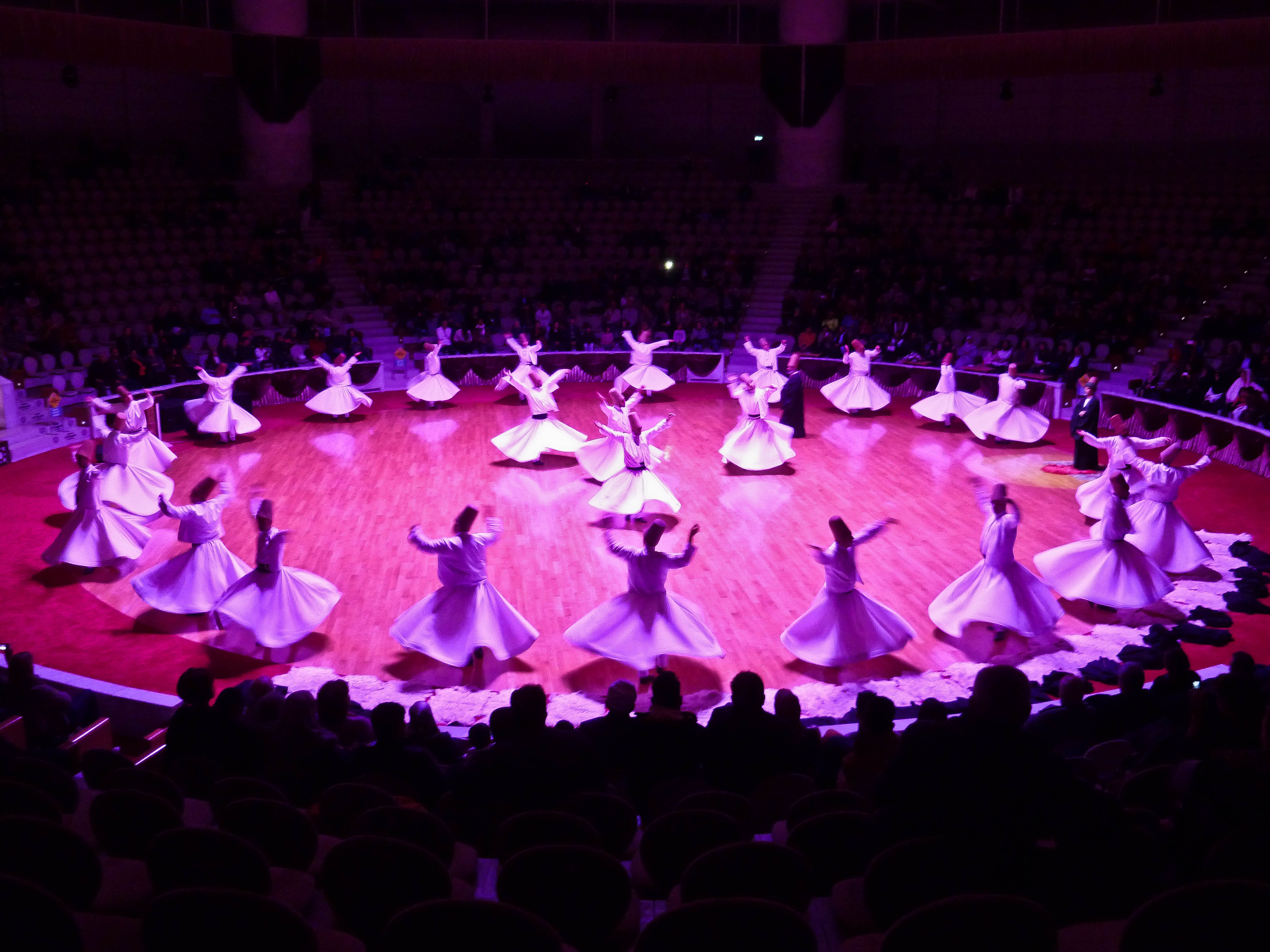 The Whirling Dervish Ceremony in Konya