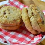 Coconut Oil Cookie Dough Sandwiches