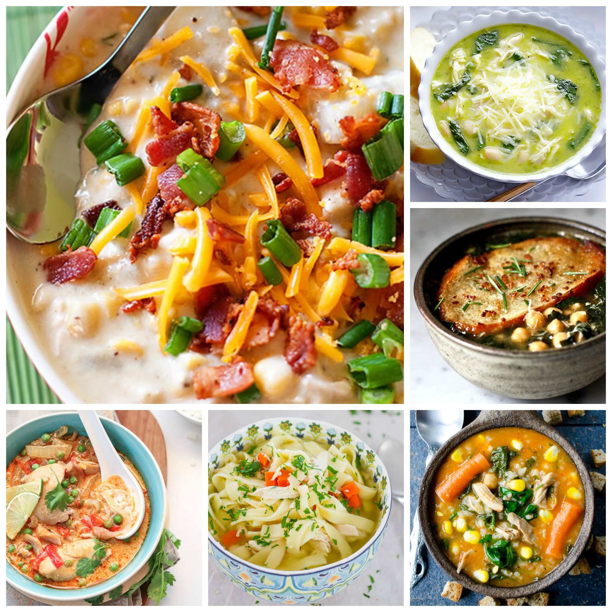 20 Warming Chicken Soup Recipes