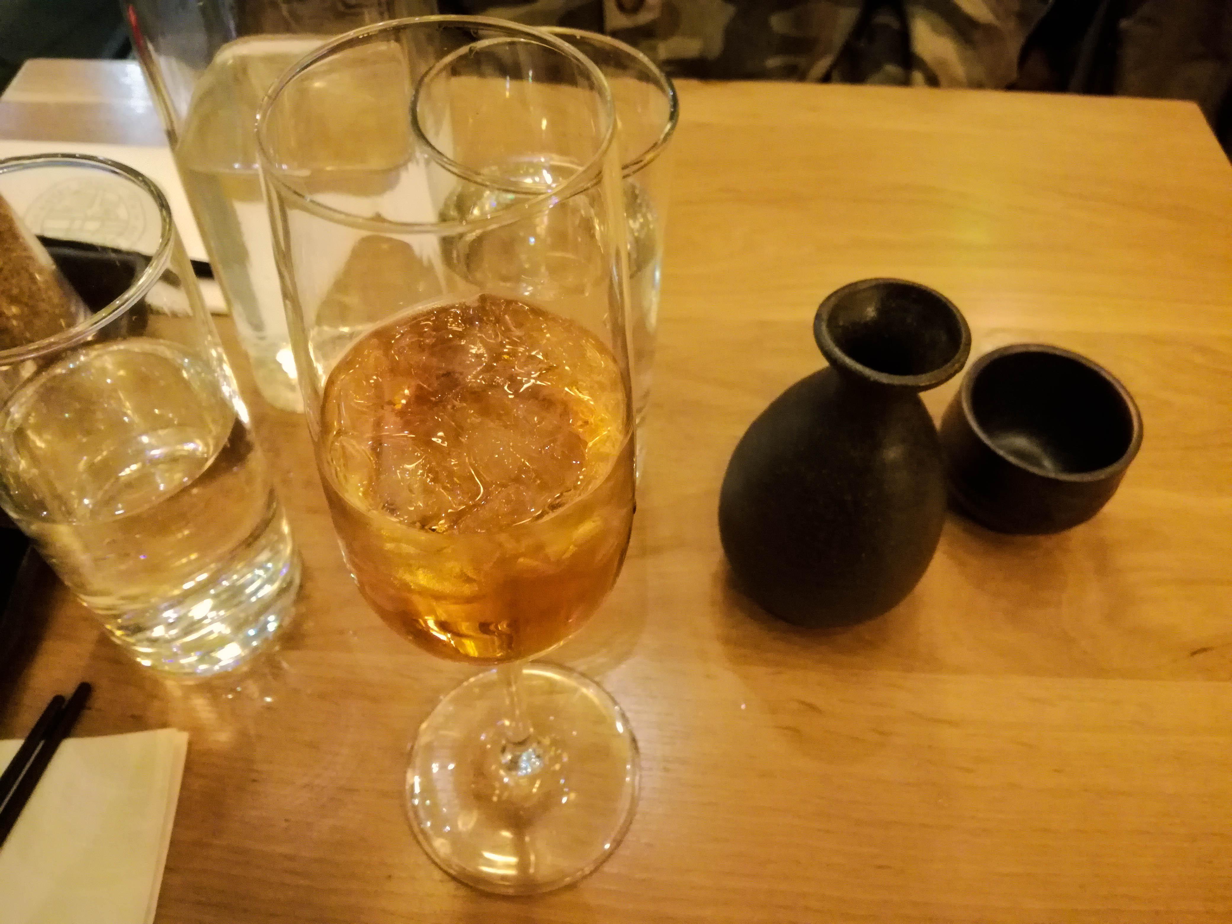 Shoryu, Piccadilly Gardens sake