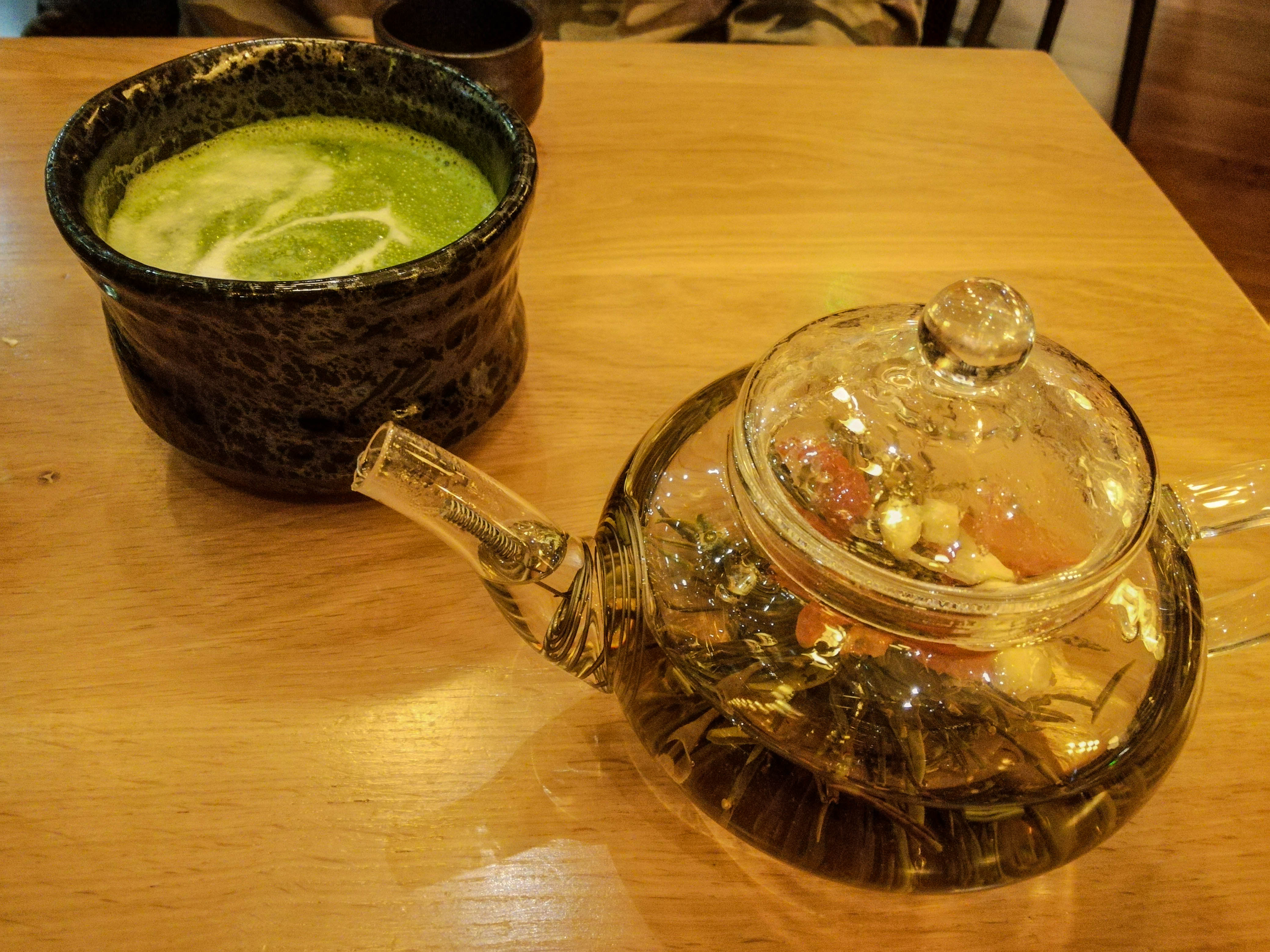 Shoryu, Piccadilly Gardens tea and matcha