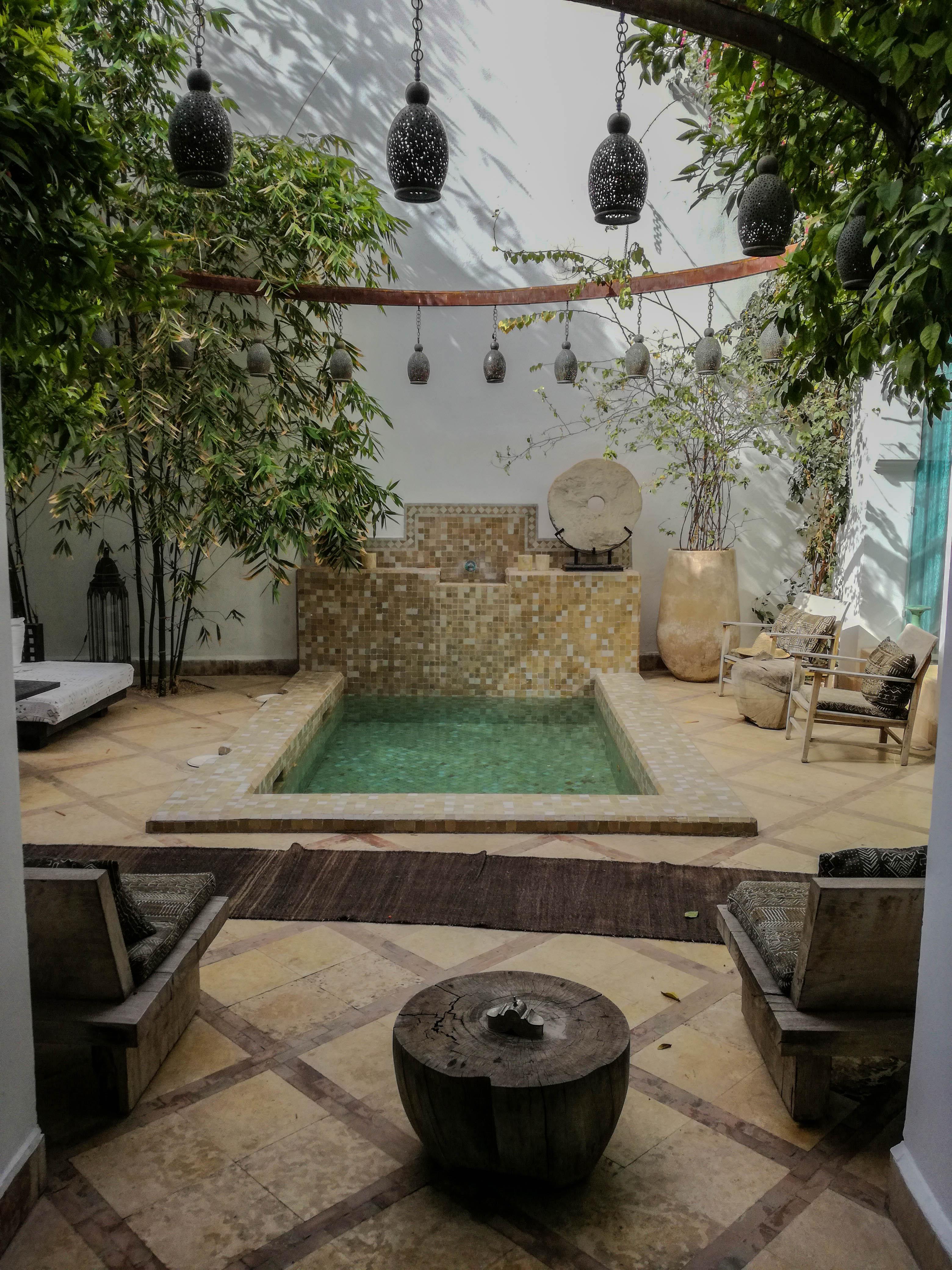 Riad Dyor Marrakech Pool ~ ConfusedJulia