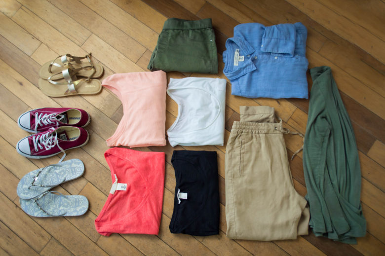A his and hers capsule wardrobe for short summer breaks for His and hers wardrobe