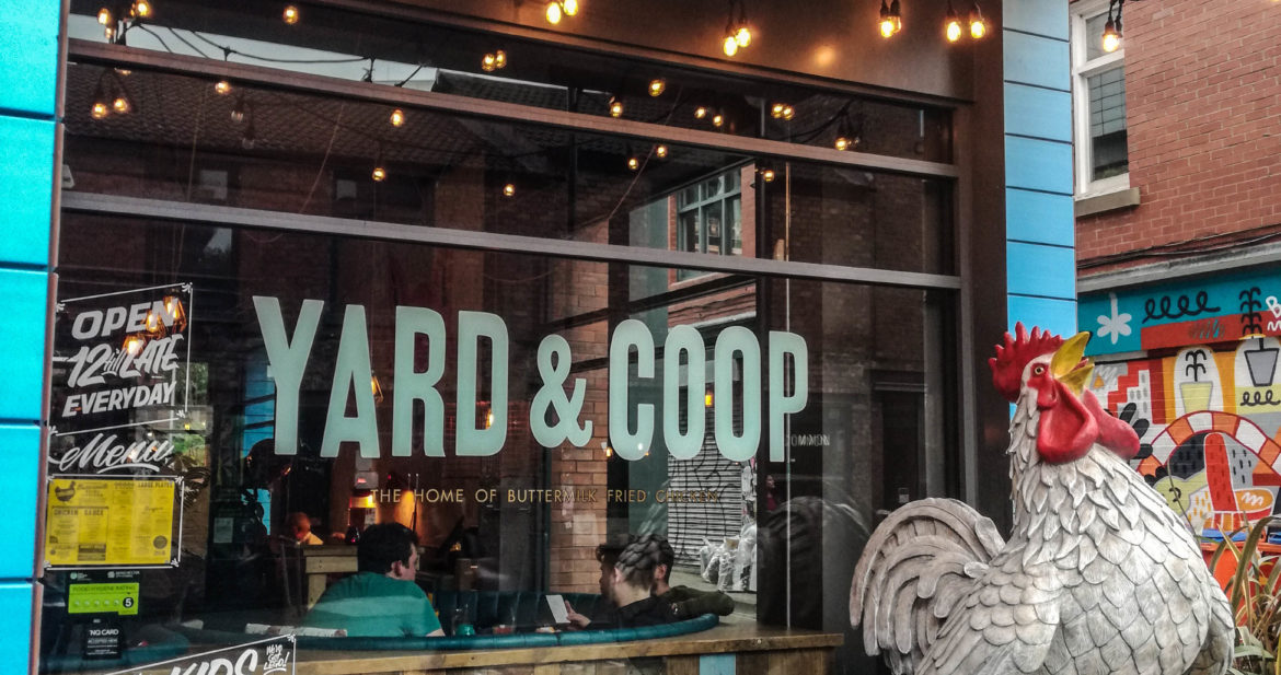 Review Yard Amp Coop Northern Quarter Confused Julia