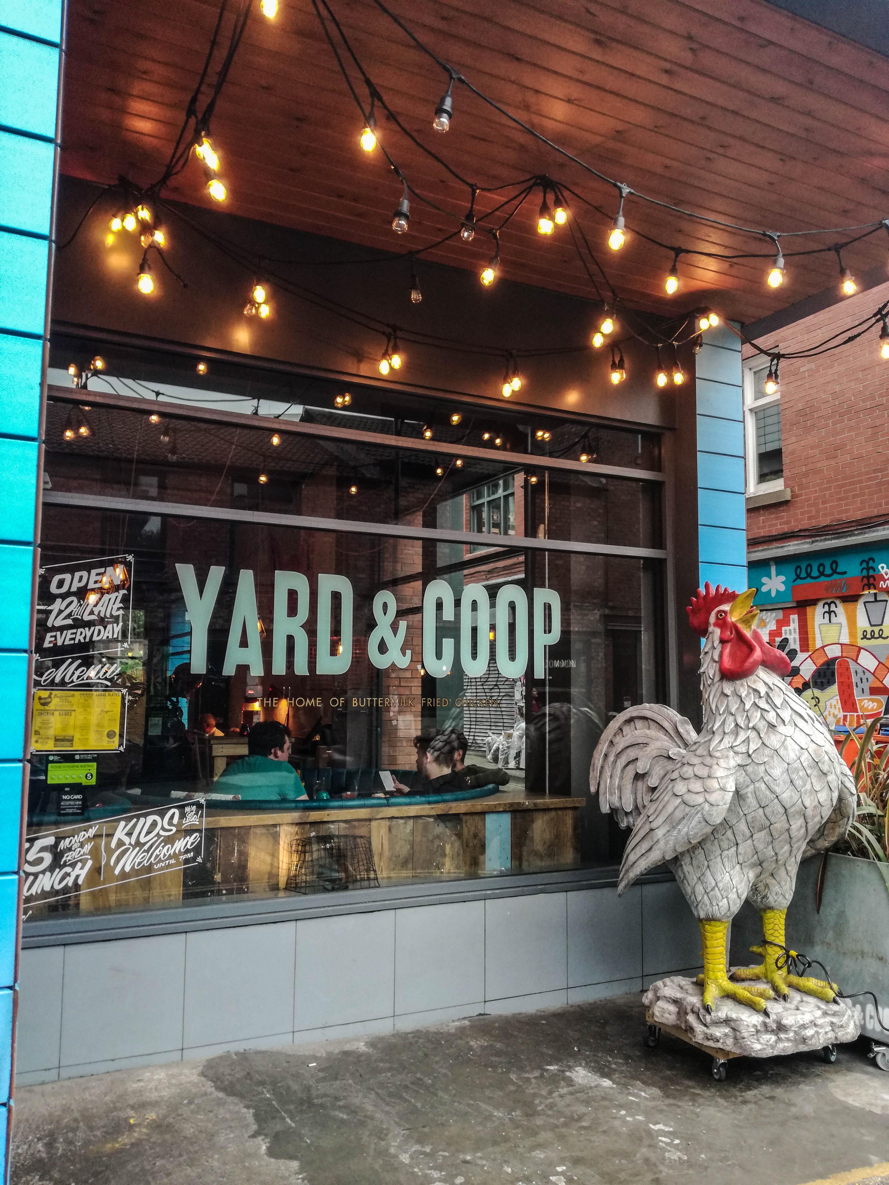 Yard & Coop Northern Quarter