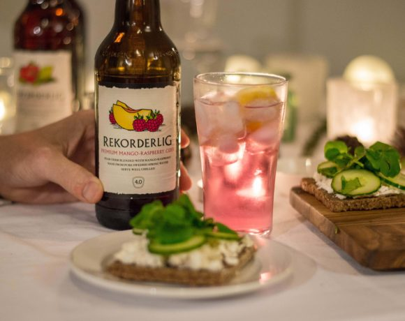 A Swedish-Themed Dinner Party with Rekorderlig